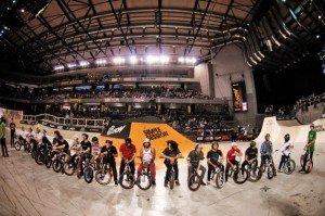 Спортсмены BMX дисциплины