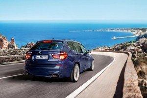 BMW alpina xd3 back