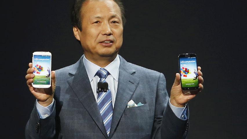 Представление Samsung Galaxy S4