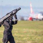 Skywall 100 оружие против летающих дронов